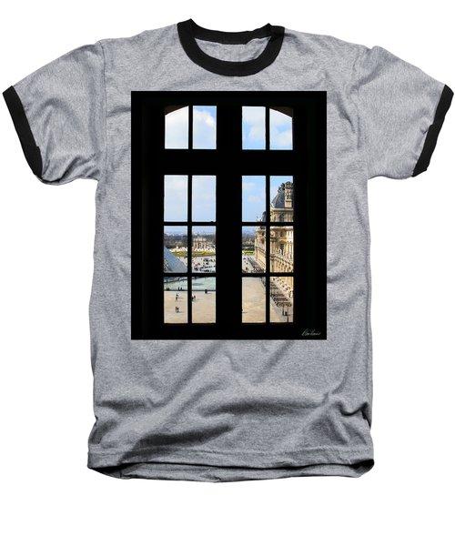 Louvre Window Baseball T-Shirt