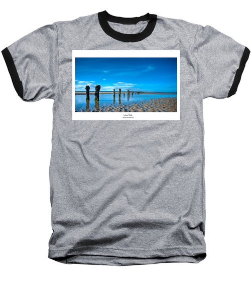 Low Tide Baseball T-Shirt by Beverly Cash