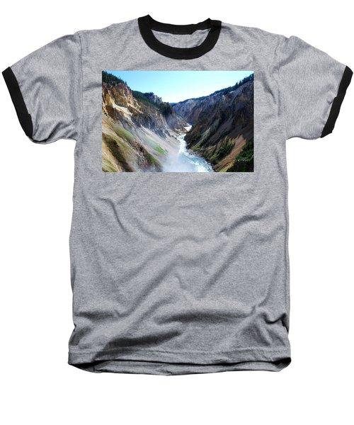 Lower Falls - Yellowstone Baseball T-Shirt