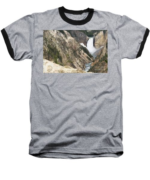 Lower Falls Another View Baseball T-Shirt by Living Color Photography Lorraine Lynch