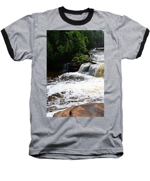 Lower Tahquamenon Falls Lll Baseball T-Shirt