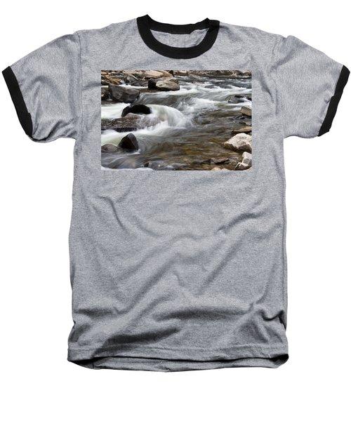 Loyalsock Creek Gentle Rapids Baseball T-Shirt