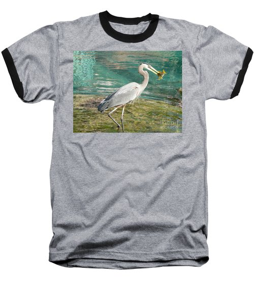 Baseball T-Shirt featuring the photograph Lunchtime by Laurel Best