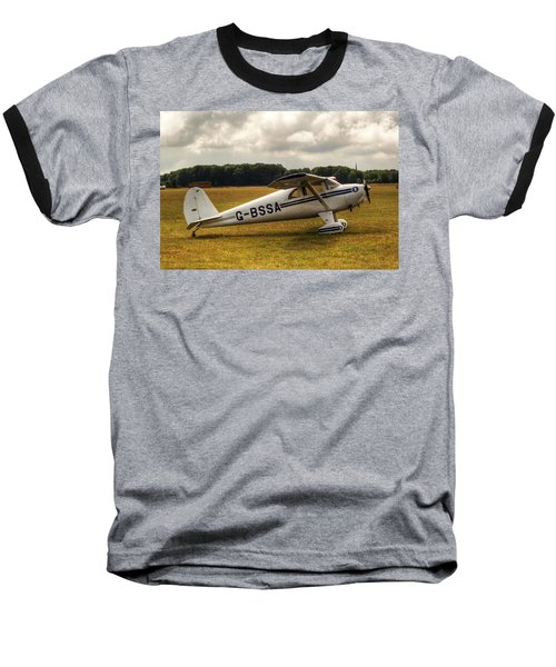 Luscombe 8e Deluxe 2 Seater Plane Baseball T-Shirt