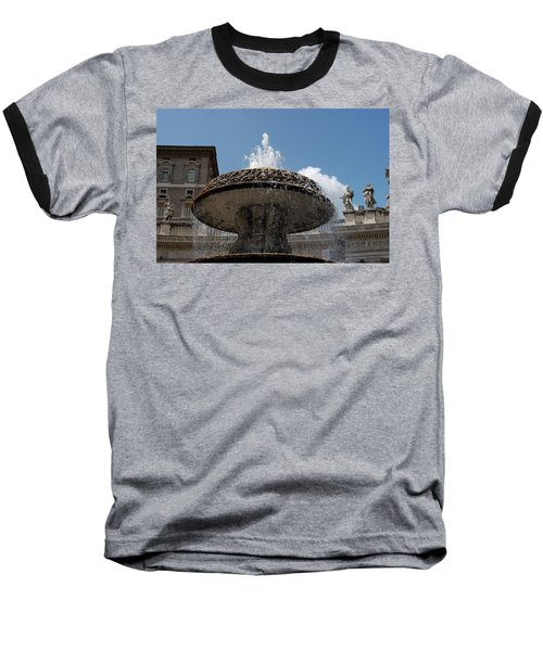 Maderno's Fountain Baseball T-Shirt
