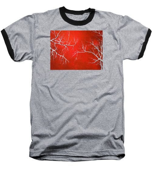 Baseball T-Shirt featuring the painting Magical Night by Dan Whittemore