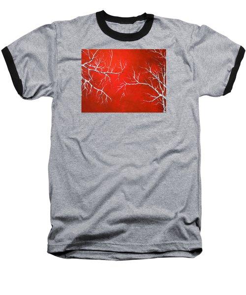 Magical Night Baseball T-Shirt by Dan Whittemore