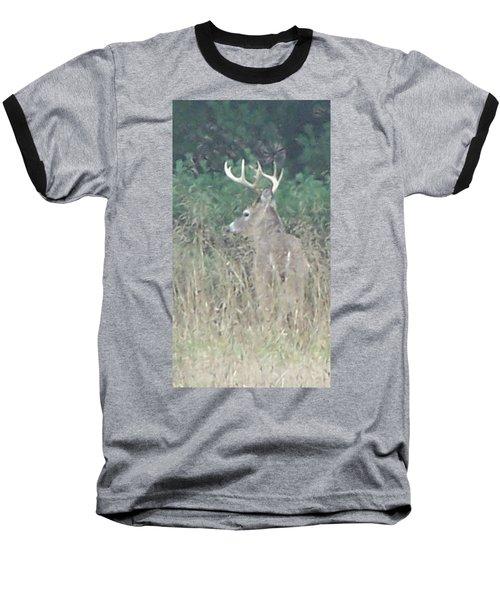 Majestic Buck Baseball T-Shirt