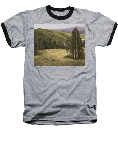 Majesty In The Rockies Baseball T-Shirt