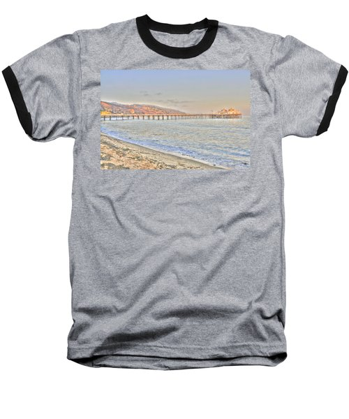 Malibu Pier North Baseball T-Shirt