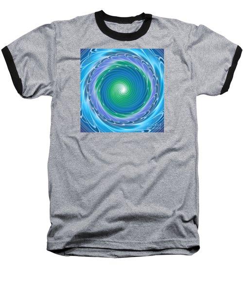Mandala Spin Baseball T-Shirt