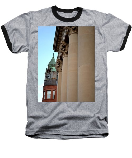 Marquette Architecture Baseball T-Shirt