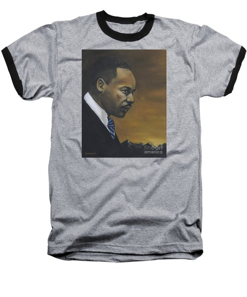Martin Luther King Jr - From The Mountaintop Baseball T-Shirt