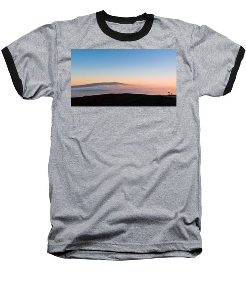 Mauna Loa Sunset Baseball T-Shirt