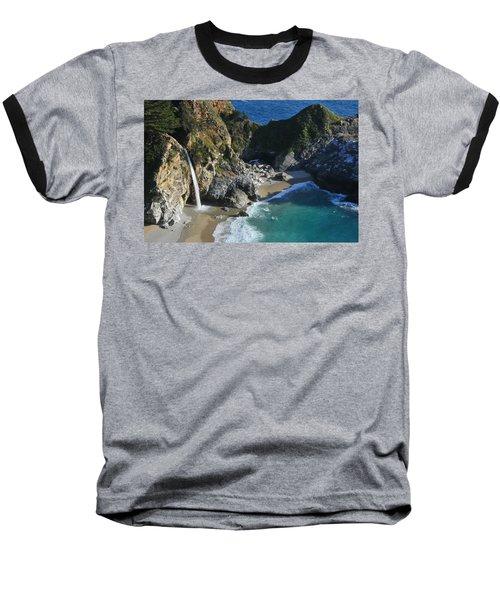 Mcway Falls Baseball T-Shirt by Lynn Bauer