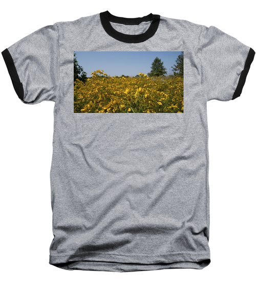 Baseball T-Shirt featuring the photograph Meadow At Terapin Park by Charles Kraus