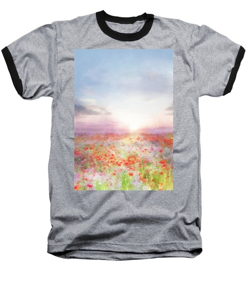 Meadow Flowers Baseball T-Shirt