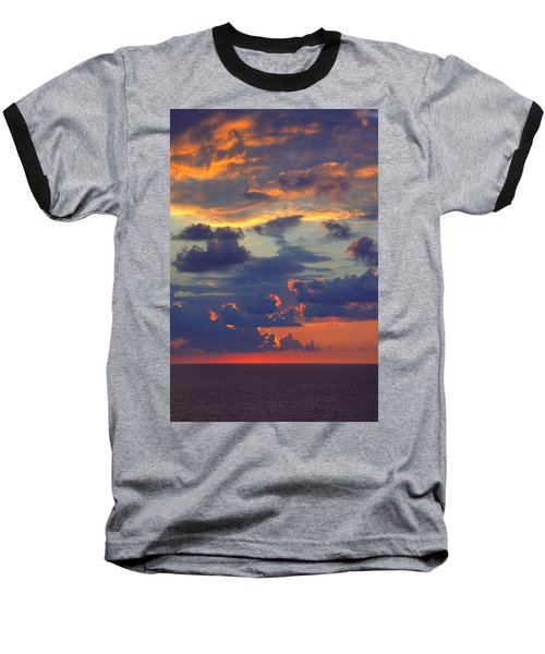 Mediterranean Sky Baseball T-Shirt by Mark Greenberg