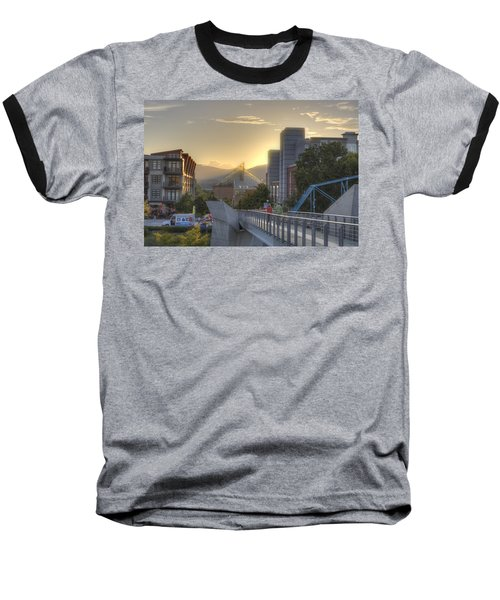 Meeting Bridges Baseball T-Shirt