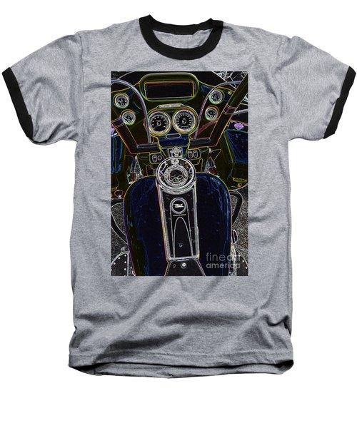 Mega Tron Baseball T-Shirt