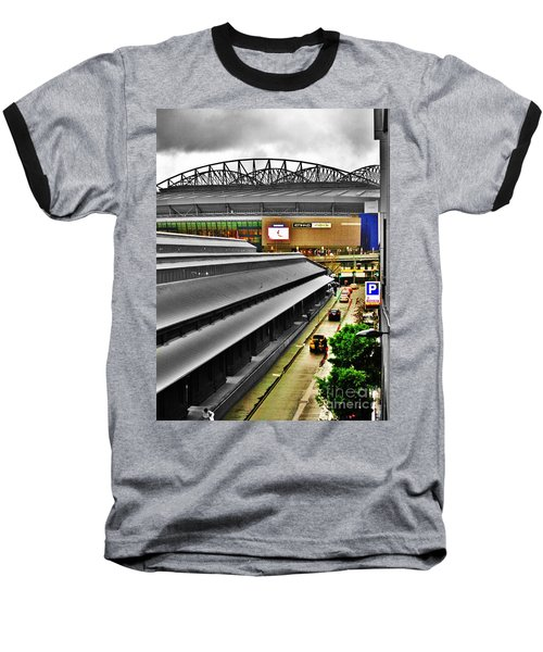 Baseball T-Shirt featuring the photograph Melbourne Docklands by Blair Stuart
