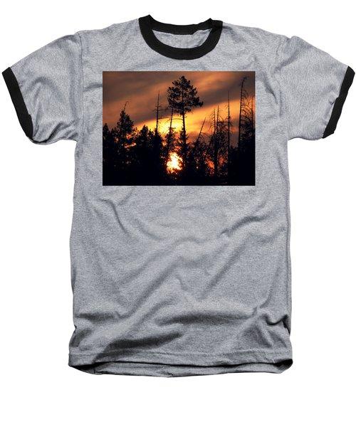 Melting Skies Baseball T-Shirt