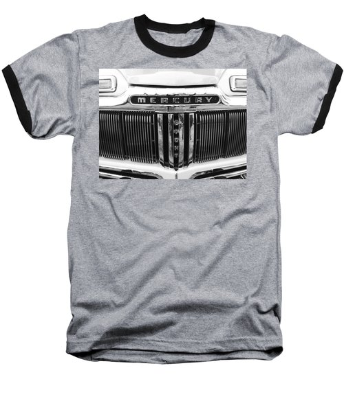 Baseball T-Shirt featuring the photograph Mercury Grill  by Kym Backland