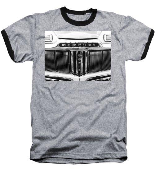 Mercury Grill  Baseball T-Shirt by Kym Backland