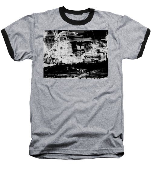 Metropolis Nacht Baseball T-Shirt