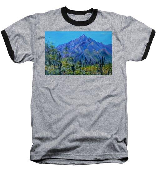 Mexico. Countryside Baseball T-Shirt