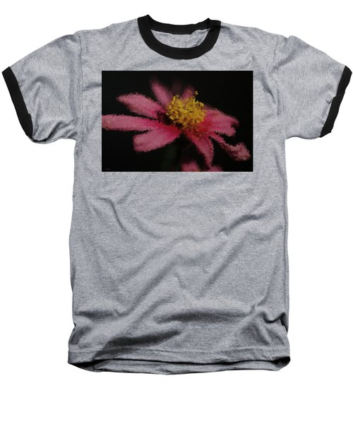 Midnight Bloom Baseball T-Shirt