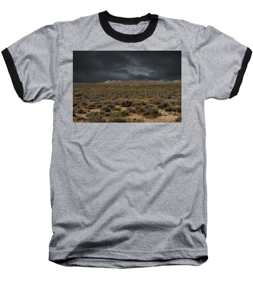 Midnight On The Pairie In Wyoming Baseball T-Shirt