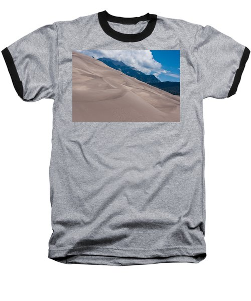 Miles Of Sand Baseball T-Shirt by Colleen Coccia