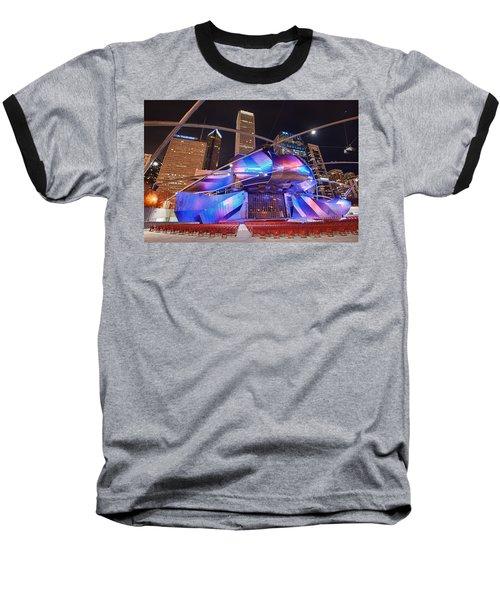 Baseball T-Shirt featuring the photograph Millennium Park by Sebastian Musial