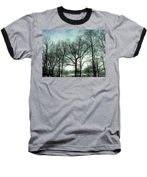 Baseball T-Shirt featuring the photograph Mirage In The Clouds by Pamela Hyde Wilson