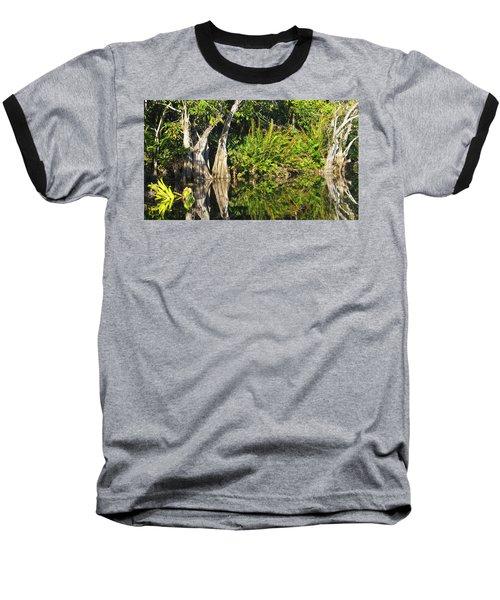 Baseball T-Shirt featuring the photograph Mirror Pond by Anne Mott