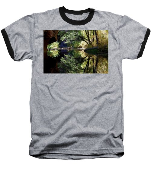 Mirror Reflection Baseball T-Shirt