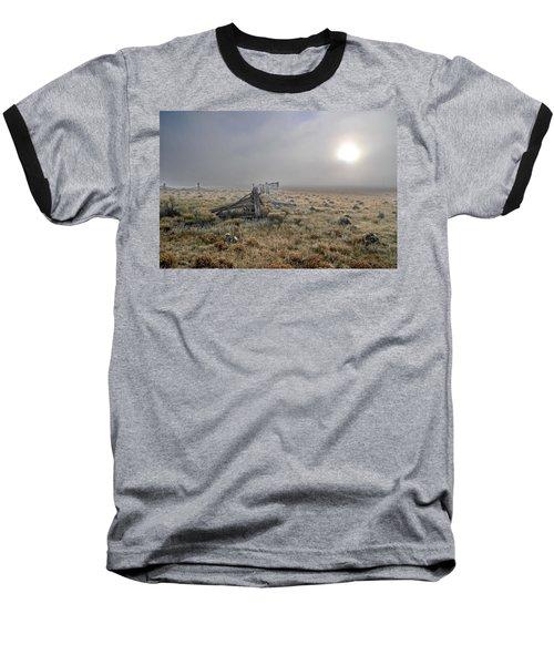 Misty Sunrise Baseball T-Shirt