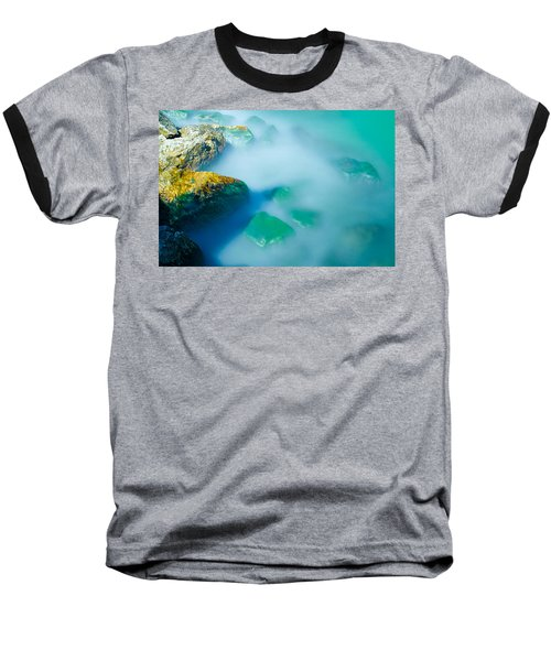 Misty Water Baseball T-Shirt