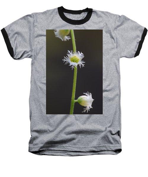 Miterwort Flowers Baseball T-Shirt