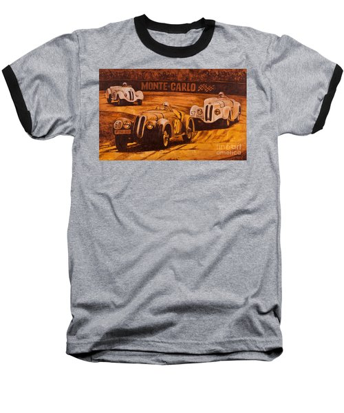 Monte-carlo 1937 Baseball T-Shirt by Igor Postash