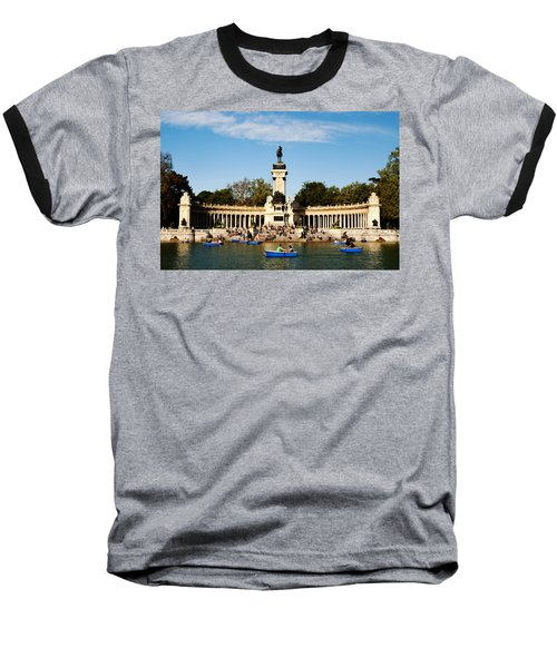 Monument To Alfonso Xii Baseball T-Shirt