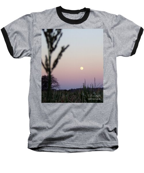 Baseball T-Shirt featuring the photograph Moon by Andrea Anderegg