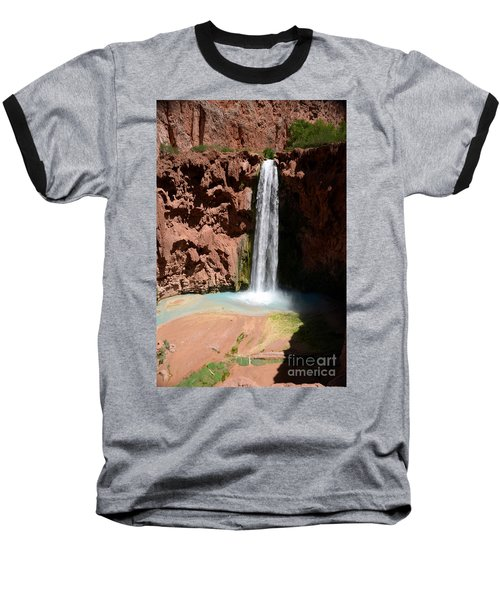 Mooney Falls Baseball T-Shirt
