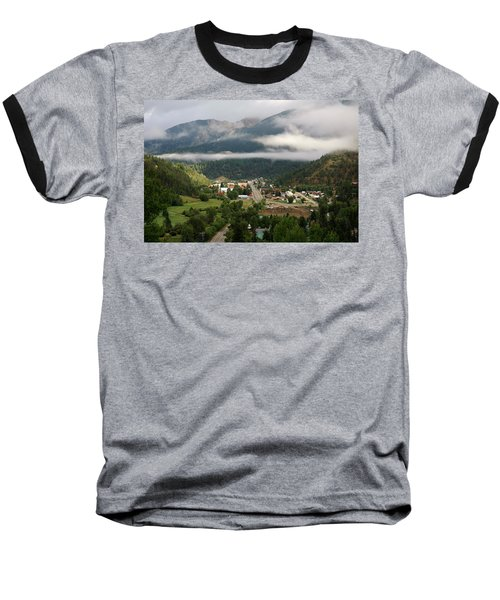 Morning Clouds Over Red River Baseball T-Shirt
