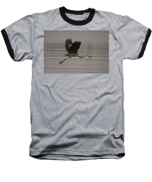 Baseball T-Shirt featuring the photograph Morning Flight by Eunice Gibb
