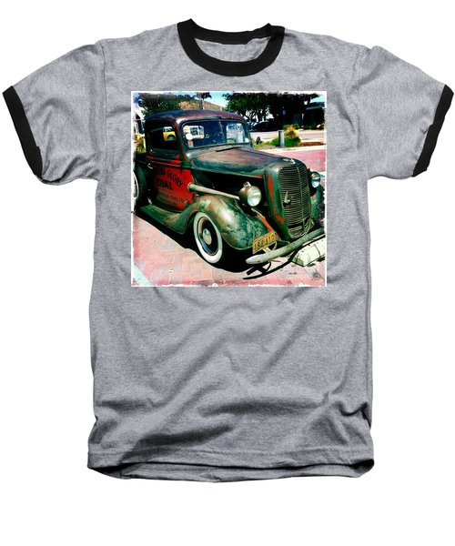 Baseball T-Shirt featuring the photograph Morning Glory Coal Truck by Nina Prommer