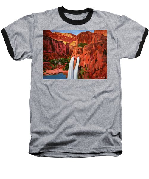 Morning In The Canyon Baseball T-Shirt