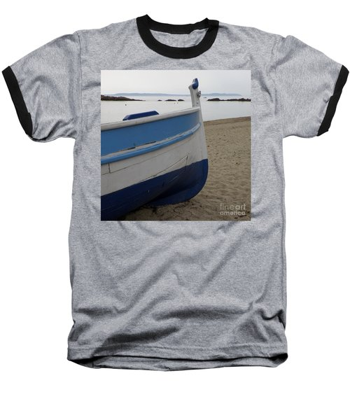 Morning Seascape Baseball T-Shirt by Lainie Wrightson