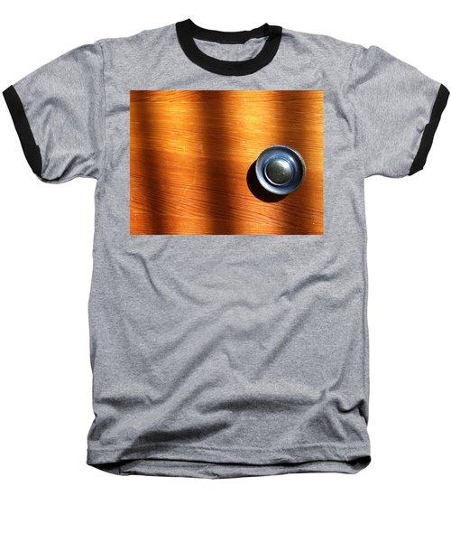 Baseball T-Shirt featuring the photograph Morning Shadows by Bill Owen